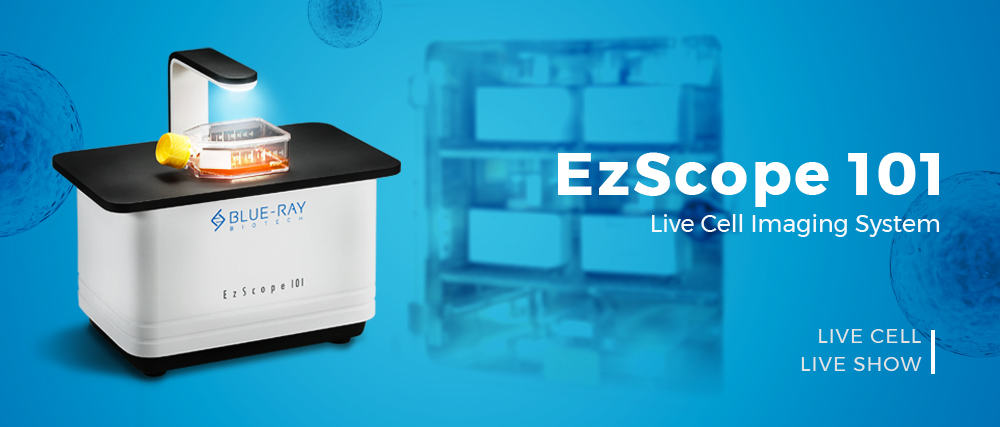 EzScope live cell imaging system_Blue-Ray Biotech