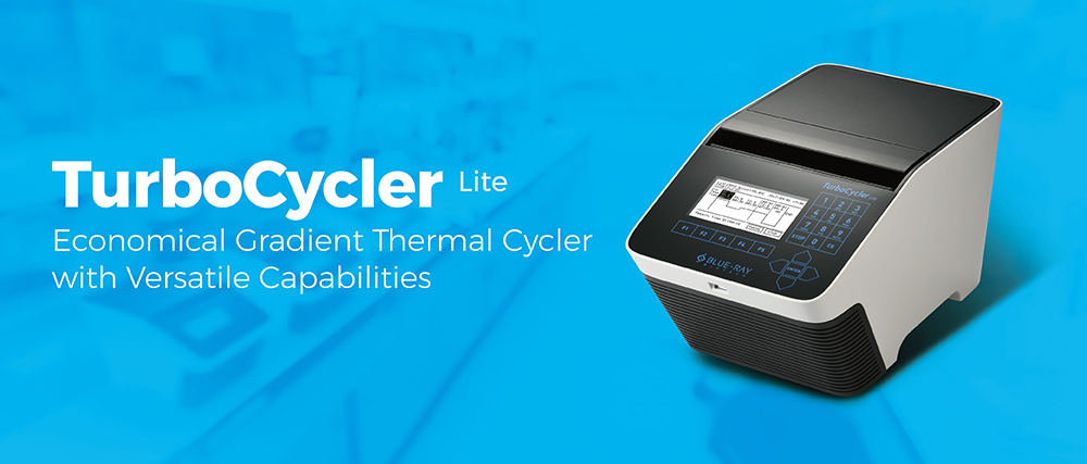 TurboCycler Lite_PCR Thermal Cycler_Blue-Ray Biotech